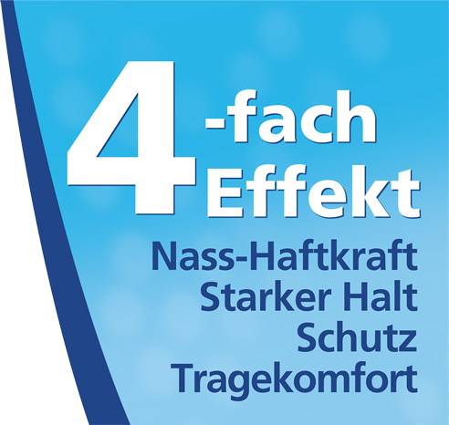 4fach-Effekt Haft-Creme Neutral